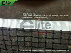 Elite Sports Tenis Neti 3mm
