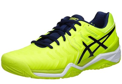 Asics Gel-Resolution 7 Safety Yellow Erkek Tenis Ayakkabısı