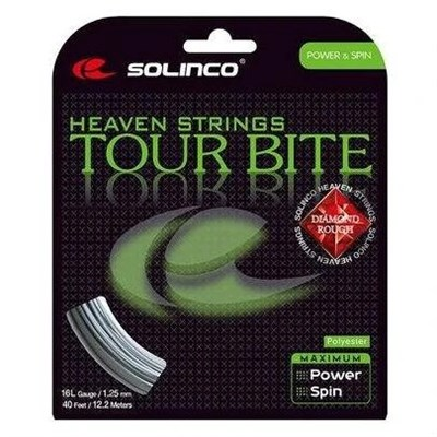 Solinco Tour Bite 16L Diamond Rough 12M / 1.25 Kordaj